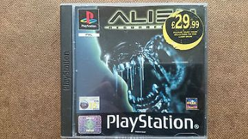 Alien Trilogy  PS1  Game  Original Release